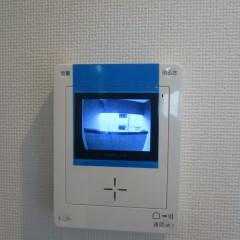 TVモニターホン 標準で施工されます。