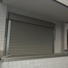 1階バルコニーシャッター