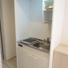 キッチン(IHコンロ・シングルレバーは別途工事代が発生します。)
