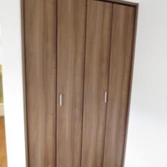 クローゼット扉 分譲戸建と同じ扉を使用しておりグレード感が上がっています。