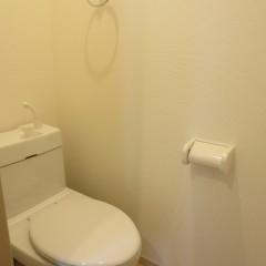 トイレ タオルリングは標準にて施工されます。