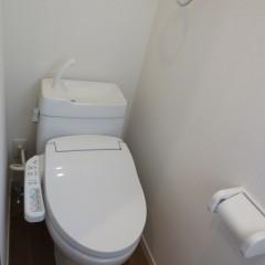 トイレ(温水洗浄便座は別途工事代金が発生します。)