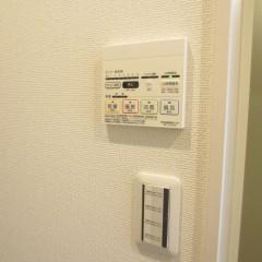 浴室乾燥機を追加にて施工しています。(別途工事代金が発生します。)