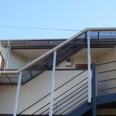 3階部分階段廊下屋根 (完成後の施工で別途工事代金が発生します。)