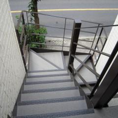 鉄骨階段共用部分(施工例)