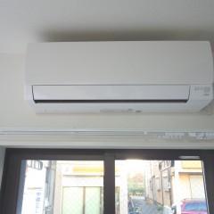 エアコンはプロパンガス会社との貸与契約です