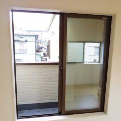 バルコニー(ガラスは複層ガラス)