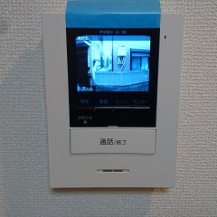 TVモニターホン(施工例)