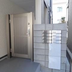 電子錠オートロック・ポスト・宅配ロッカー(施工例)
